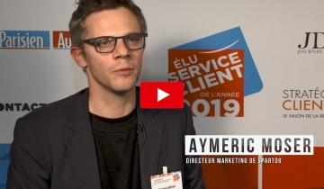 L'interview du mois : Aymeric MOSER,Directeur Marketing de Spartoo