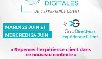 Save the date - Les Journées Digitales de l'Expérience Client organisées par l'Agora des Directeurs Expérience Client