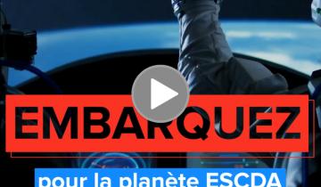 La vidéo du mois : Embarquez pour la planète ESCDA !