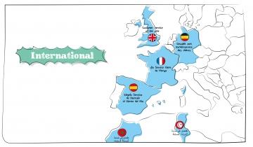 Élection du Service Client de l'Année à l'International : quelle est la situation dans les pays organisateurs ?