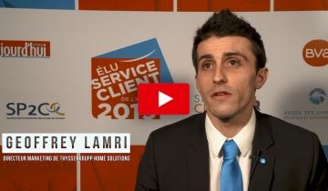 L'interview du mois : Geoffrey LAMRI, Directeur Marketing de thyssenkrupp Home Solutions