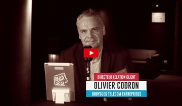 L'interview roulette<br /> Olivier CODRON - Bouygues Telecom Entreprises