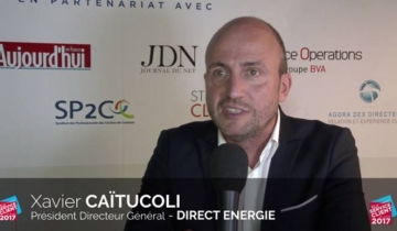 L'INTERVIEW DU MOIS : XAVIER CAÏTUCOLI – PDG DE DIRECT ENERGIE