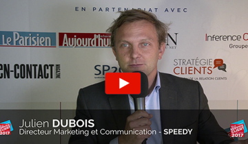 L'interview du mois : Julien DUBOIS, Directeur Marketing et communication de Speedy