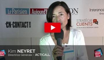L'INTERVIEW DU MOIS : KIM NEYRET - DIRECTRICE GÉNÉRALE D'ACTICALL