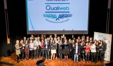 Et les gagnants du 21<sup>ème</sup> Baromètre Qualiweb sont…