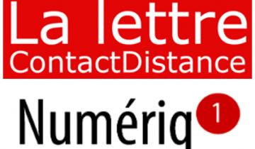 Clap de fin pour la lettre d'information Numeriq'1