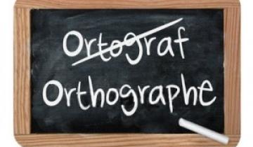 Orthographe, je t'aime moi non plus