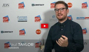 L'interview du mois d'avril: <br />Paul TAYLOR, Humoriste