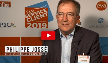 L'interview du mois :Philippe JOSSÉ, Président du Directoire d'Altarea Cogedim