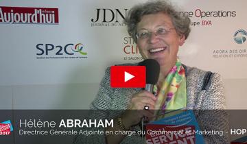 L'interview du mois : Hélène ABRAHAM, Directrice Général Adjointe d'HOP!