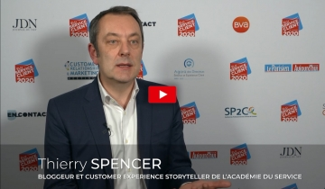 L'interview du mois : Thierry SPENCER, Bloggeur et Customer expérience Storyteller de l'Académie du Service