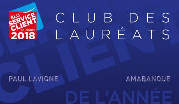 Naissance du Club des lauréats de l'Élection du Service Client de l'Année