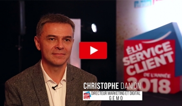 L'interview du mois : Christophe DANION, Directeur Marketing et Digital chez Gémo