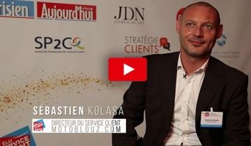 L'interview du mois:Sébastien KOLASA, Directeur du Service Clientde Motoblouz.com